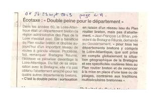 article OF ecotaxe