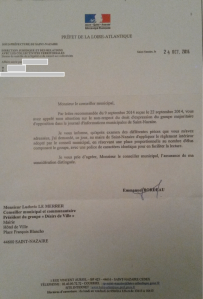 lettre prefet