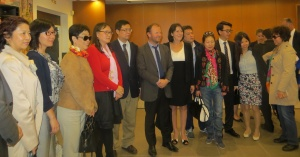 rencontre delegation chinoise 15052015